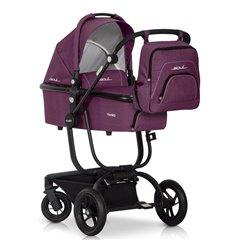 Дитяча універсальна коляска 2 в 1 EasyGo Soul Purple