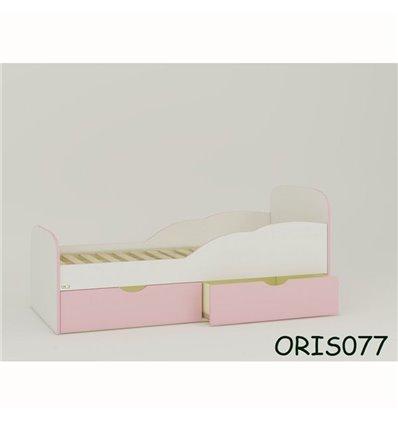 Підліткове ліжечко Oris Selena біло-рожевий