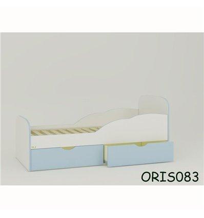 Підліткове ліжечко Oris Selena біло-блакитний