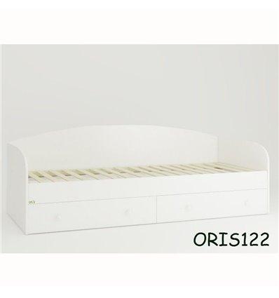 Підліткове ліжечко Oris Nika білий