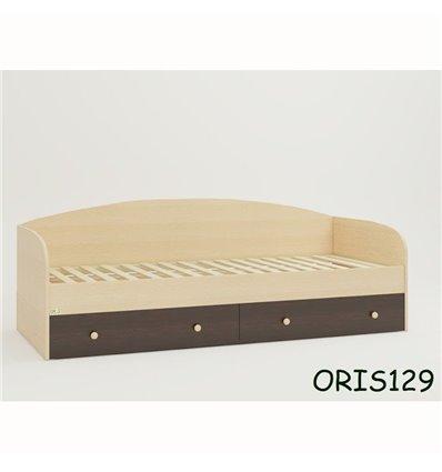 Підліткове ліжечко Oris Nika комбінований венге