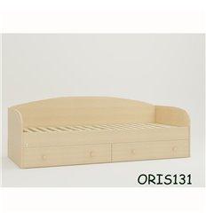 Підліткове ліжечко Oris Nika сосна лоредо світлий венге