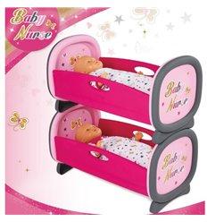 Ліжечко для двійні Smoby Baby Nurse 220314