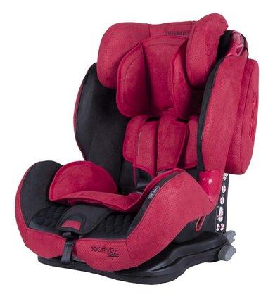 Автокрісло дитяче Coletto Sportivo Isofix червоне, 9-36 кг
