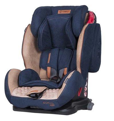 Автокрісло дитяче Coletto Sportivo Isofix синє, 9-36 кг