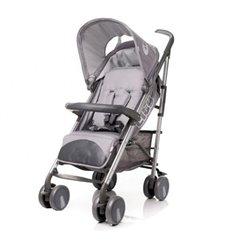 Дитяча прогулянкова коляска 4Baby City Grey