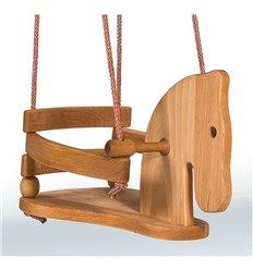 Гойдалка дерев'яна Конячка