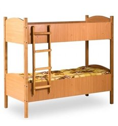 Ліжечко двоярусне 190x80 см