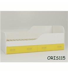 Підросткове ліжечко Oris Juventa біло-жовтий