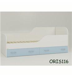 Підросткове ліжечко Oris Juventa біло-блакитний