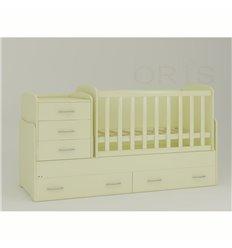 Дитяче ліжко-трансформер Oris Afina ваніль