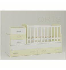 Дитяче ліжко-трансформер Oris Afina ваніль 2