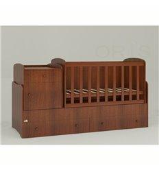 Дитяче ліжко-трансформер Oris Metida горіх