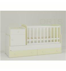 Дитяче ліжко-трансформер Oris Metida ваніль 2