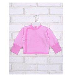 Сорочечка Татошка 09253 білий-рожевий полоска