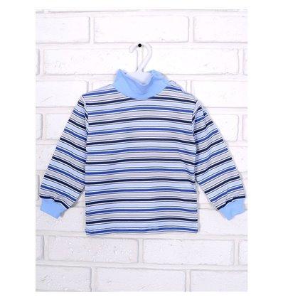 Гольф Татошка 02802 блакитний-синій-сірий-білий