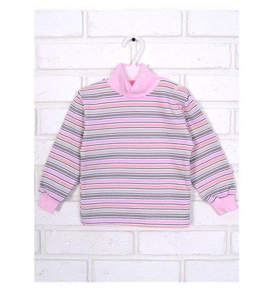 Гольф Татошка 02802 рожевий-бежевий-персиковий-білий