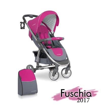 Дитяча прогулянкова коляска EasyGo Virage Fuchsia