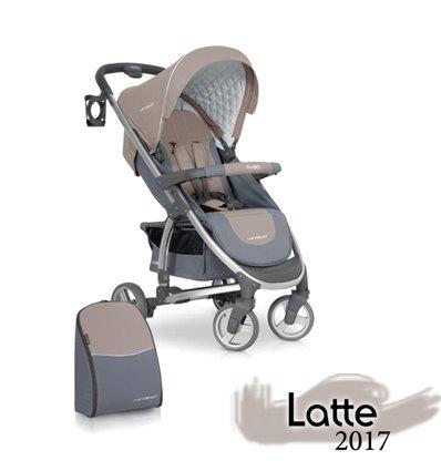 Дитяча прогулянкова коляска EasyGo Virage Latte