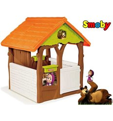 Дитячий будиночок Smoby Маша і Ведмідь 810600