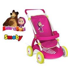Коляска для ляльки Smoby Маша і Ведмідь 254001