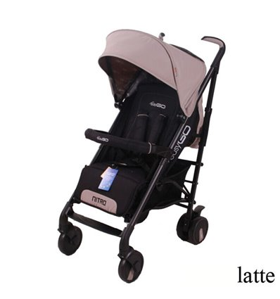 Дитяча прогулянкова коляска EasyGo Nitro Latte