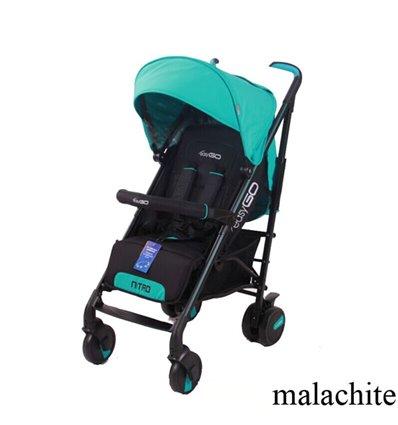 Дитяча прогулянкова коляска EasyGo Nitro Malachite
