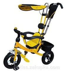 Велосипед триколісний Mars Mini Trike LT950 Air жовтий