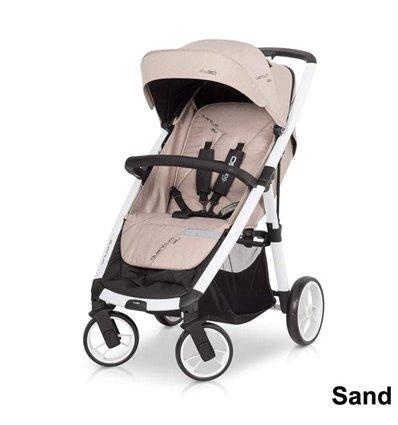 Дитяча прогулянкова коляска EasyGo Quantum Mocca