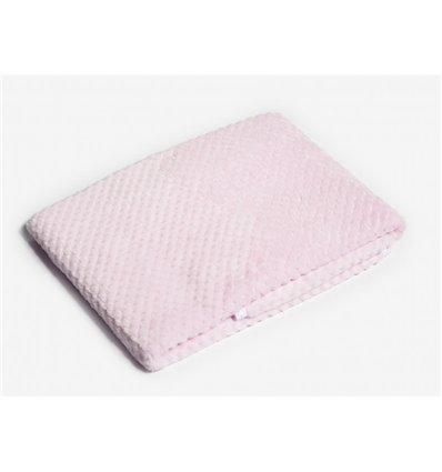 Плед Twins жакард 80x104 pink