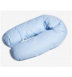 Подушка для вагітних Twins blue