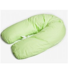 Подушка для вагітних Twins green