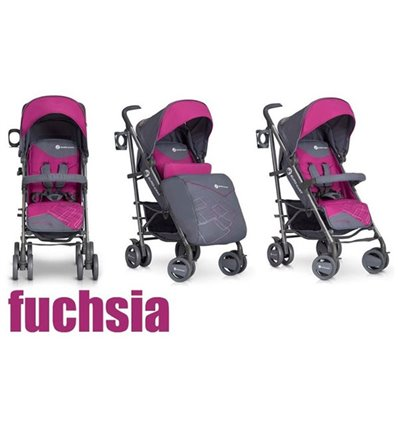 Дитяча прогулянкова коляска EasyGo Cross Line Fuchsia