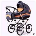 Дитяча коляска 3 в 1 Adbor Marsel Classic 02
