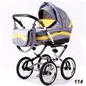Дитяча коляска 2 в 1 Adbor Marsel Classic 114