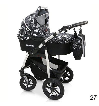 Дитяча коляска 3 в 1 Verdi Sonic 27