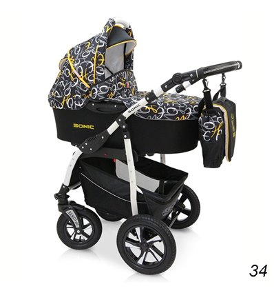 Дитяча коляска 3 в 1 Verdi Sonic 34