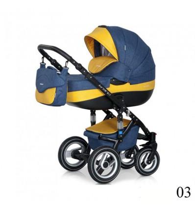 Дитяча коляска 2 в 1 Riko Brano 03