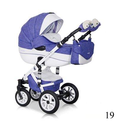 Дитяча коляска 2 в 1 Riko Brano ECCO 19