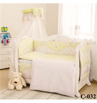 Дитячий постільний комплект Twins Comfort 8 елементів C-032 Котята