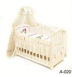 Дитячий постільний комплект Twins Evolution 7 елементів A-020 Сова