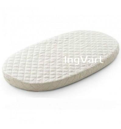 Матрац IngVart для ліжечок Baggybed Oval Кокос+флексовойлок, 60x120 см 6026
