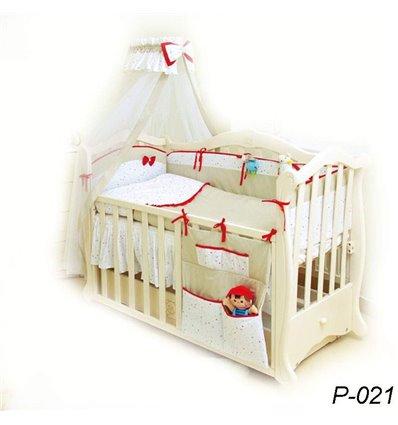 Дитячий постільний комплект Twins Premium Starlet 8 елементів P-021