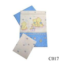 Дитяча змінна постіль Twins Comfort C-017 Ведмедики з зорями