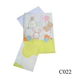 Дитяча змінна постіль Twins Comfort C-022 Горошки