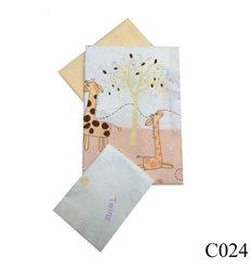 Дитяча змінна постіль Twins Comfort C-024 Жирафи