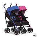 Прогулянкова коляска для двійні Easygo Duo Comfort Mix