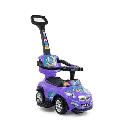 Машинка каталка Milly Mally Happy фіолетова