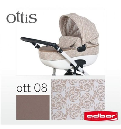 Дитяча коляска 2 в 1 Adbor Ottis 08