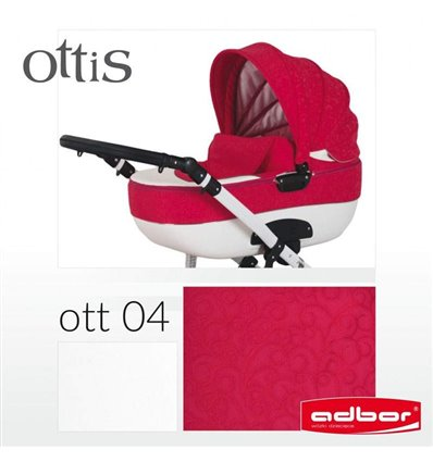 Дитяча коляска 3 в 1 Adbor Ottis 04